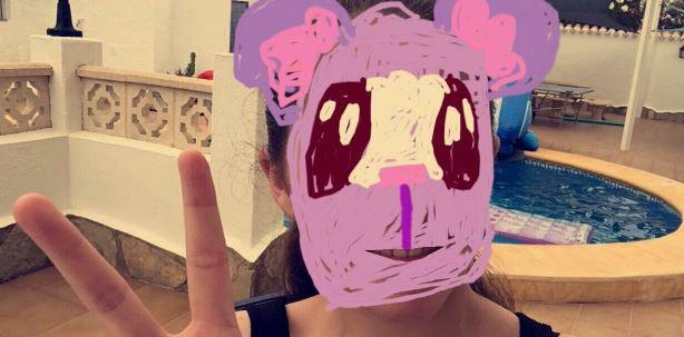 keedy fuzz twitter - snapchat filter - digitally