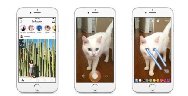 instgram story - snapchat - digitally